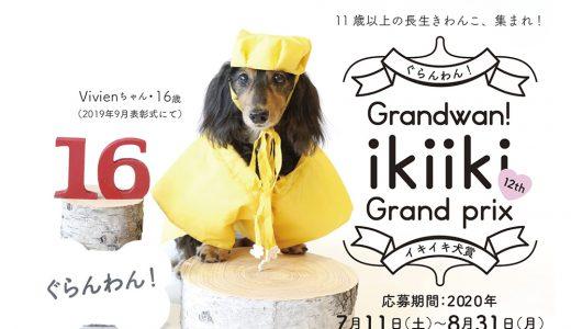 2020イキイキ犬賞募集開始