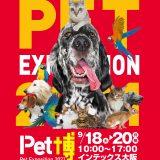 インテックス大阪で開催のPet博チケットプレゼント